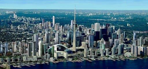 35 درصد به منطقه تورنتو بزرگ رفتند